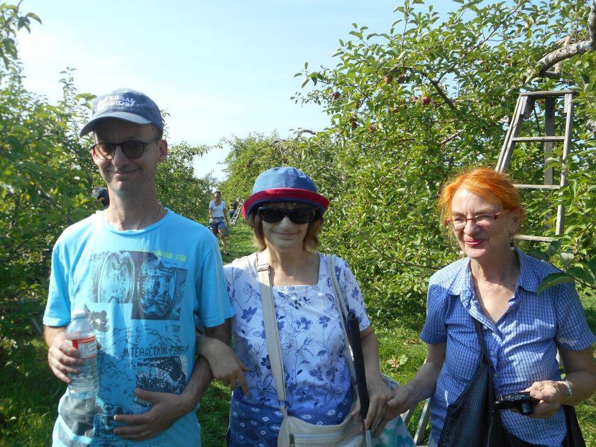 AVATIL/ TCC activité culturelle / La cueillette des pommes - septembre 2017
